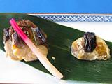 鰆と椎茸の挟み焼
