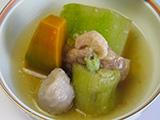 合鴨と冬瓜の のっぺい煮
