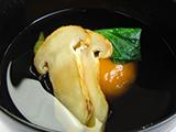 すっぽん柿白玉